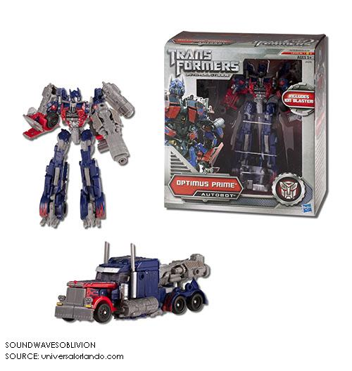 Transformers Dark of the Moon Optimus Prime Mech Tech remorque Deluxe DOTM